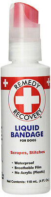 REMEDY+RECOVERY - Liquid Bandage for Dogs - 4 fl. oz. (118 ml)