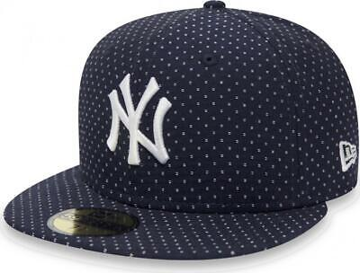 New Era New York Yankees Polkadot Navy Cap 59fifty 5950 Fitted Limited Edition