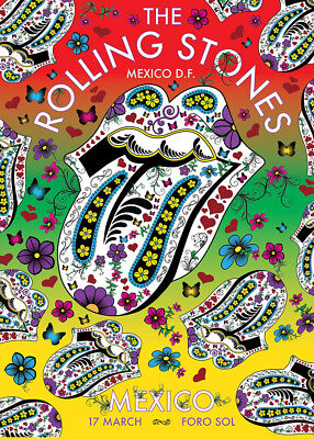 Artists R Entertainment Memorabilia Rolling Stones Geriatric Tour I Fridge Magnet 2 5 X 3 5 Rolling Stones Entertainment Memorabilia