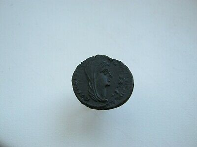 CONSTANTINE I the Great CHARIOT to GOD HAND in HEAVEN Ancient Roman Coin