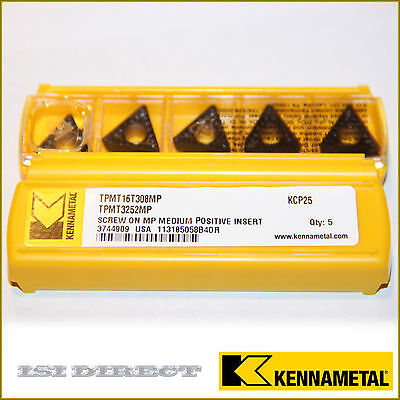CPGM 32.52 KC730 09T308 3252 KENNAMETAL *** 10 INSERTS *** FACTORY PACK ***