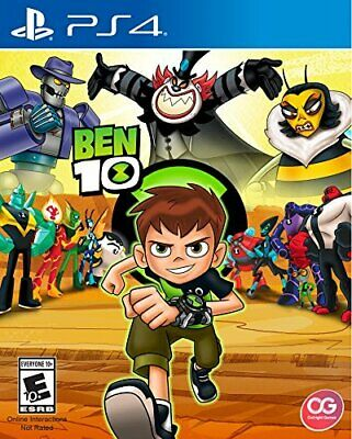Ben 10 [Sony PlayStation 4 PS4 Beat 'em Up Outright Games Gwen Grandpa Max] NEW