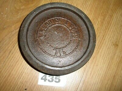 Vintage Kenrick & Sons 7 Lb Weight