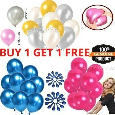"10"" Plain Latex Balloons Birthday Wedding Round Baloons Party Decor Supplies Bal"