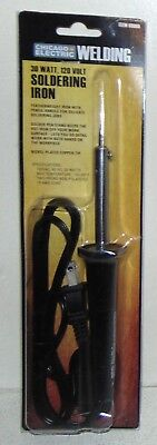 Chicago Electric WELDING: Soldering Iron - 30 WATT, 120 VOLT New