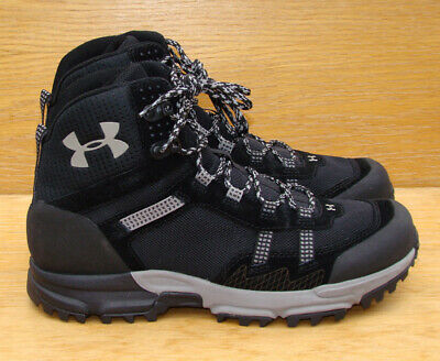 1d216640915 UNDER ARMOUR MEN'S Post Canyon Mid Hiking Boots 1287343-001 Black 12 ...