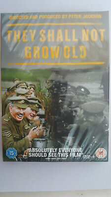 """They Shall Not Grow Old"" 2018 Dvd New 19X13.5"