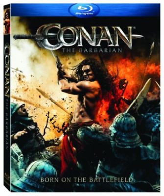 Conan the Barbarian: Brand New Sealed [ Blu-Ray ] W/ Slipcover, Free Shipping