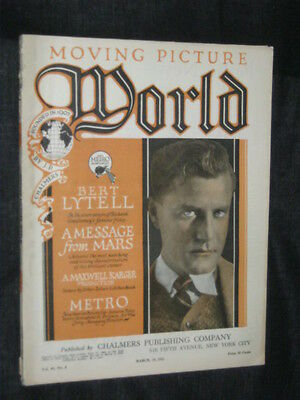 Marzo 19 1921 Moving Picture World Uncut Complete 113 Pg Rendi
