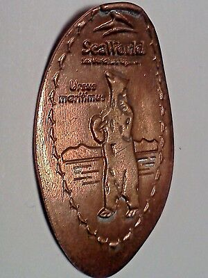 SEA WORLD SAN DIEGO CALIFORNIA-Elongated / Pressed Penny A-25