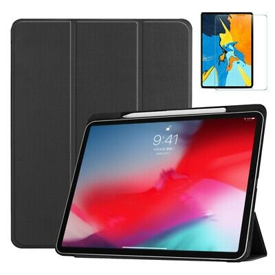 Lightweight Smart Case for Apple iPad Pro 11 inch FREE Glass Screen Protector