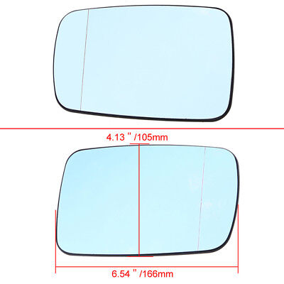Replacement Passenger Side Convex RH  Mirror Glass Lens For 1994-1999 BMW M3
