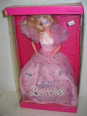 #2825 NRFB Mattel LEO Happy Birthday Barbie from India Foreign Issue