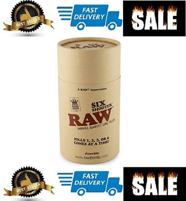 RAW Six Shooter Cone Loader Filling Device | Fills 1,2,3, or 6 Cones at a Time