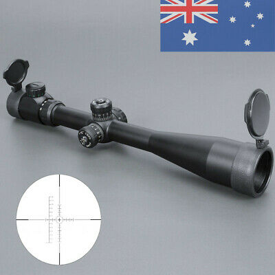 Hunting Red Green Illuminated Rangefinder Reticle 10-40X50 Sight Scope Mount