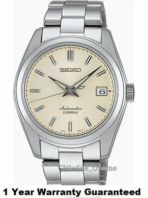 Seiko SARB035 Mechanical Automatic White Dial Men's Watch w/ 1 Yr Warranty IT*1