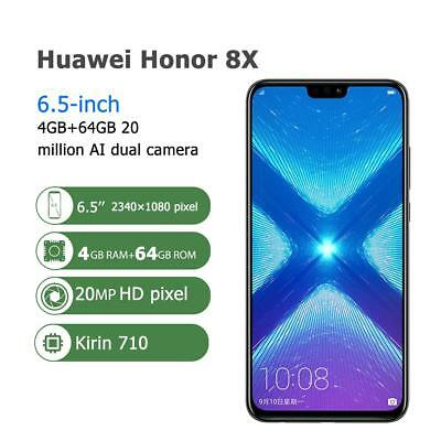 Huawei Honor 8X 6.5 inch Android 8.1 4+64/128GB Octa Core Unlocked Cell Phone