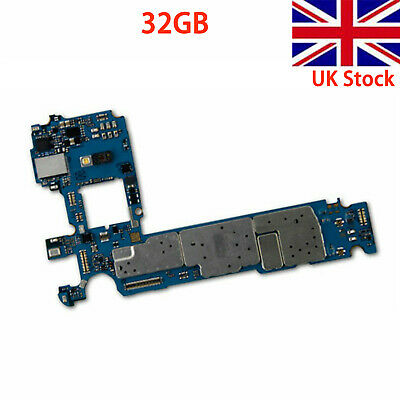 32GB Original Unlocked Motherboard for Samsung Galaxy S7 G930T Smartphone UK