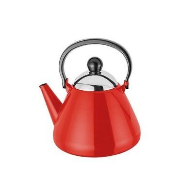 Judge Induction Red Stove Top Kettle 1.9L