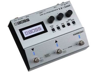 BOSS VE-500 VOCAL PERFORMER 3 PEDAL ,EFFECT PROFESSIONAL NEW  Roland