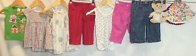 Baby Girls Bundle Of Clothing Age 3-6 Months Next New Look Baby Baby Gap <H1659