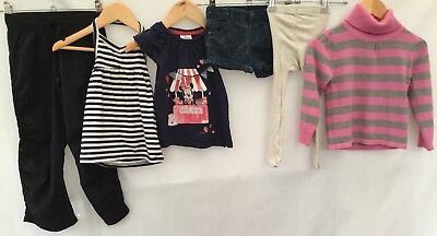 Girls Bundle Of Clothing Age 2-3 Zara Girls George M&S Next <H928