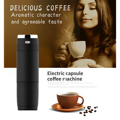 Portable Coffee Maker Compatible Capsule And Ground Coffee For Outdoor Or Office