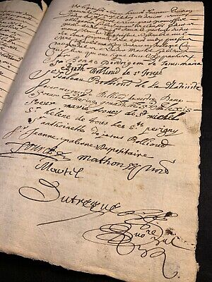 NUNS TREATY 1662 from Notre Dame, St. Michel and Other Monasteries
