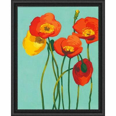 PAINTWORKS Paint by Number Kit COLORFUL BLOOMS 11 x 14 inches Dimensions