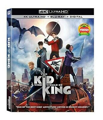 The Kid Who Would Be King - 4K Ultra HD + Blu-ray - NO DIGITAL - Preorder