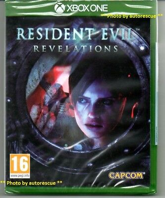 Resident Evil Revelations HD  'New & Sealed' *XBOX ONE (1)*
