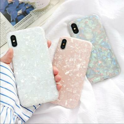 For Samsung Galaxy S10 S9 S8 Plus S7 Marble Shockproof Silicone Phone Case Cover