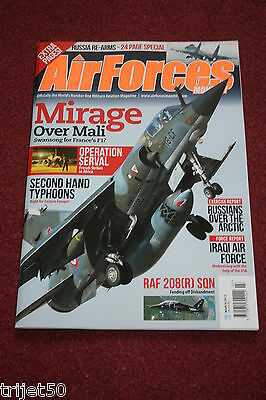 Air Forces Monthly 2013 March Russia,USS Eisenhower,Mirage,Iraq,Bulgaria Mig-29