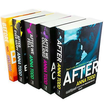 Anna Todd After Series After Ever Happy, We Collided 5 Books Collection Set NEW