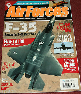 Air Forces Monthly 2012 January Tristar,Swiss,Italy,Russia