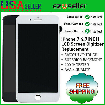 LCD Screen Replacement For iPhone 7 A1660 A1778 A1779 Touch Digitizer Assembly