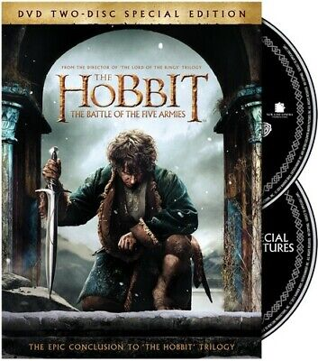 Hobbit 3: The Battle Of The Five Armies (2015, DVD New)