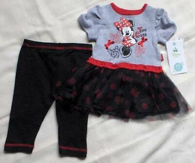 Disney Minnie Mouse Corduroy Romper for Baby Girl  0-3 mos