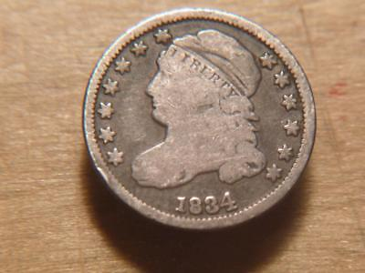 1918 S Buffalo Nickel 5c Cent Good GD Condition