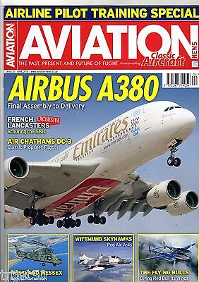 Aviation News 2016 April Lancaster,Airbus A380,Westland Wessex,A-4,Flying Bulls