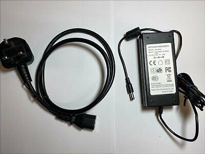 Replacement 24V AC Adaptor for Logitech G920AS Driving Force Game Steering Wheel