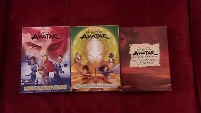 AVATAR The Last Airbender The Complete Book Book Collection 1, 2, 3 DVD SETS