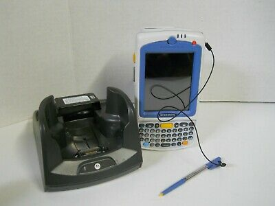 Motorola MC75A0 Barcode Scanner & Base w/ Stylus Pen & Battery Parts & Repair