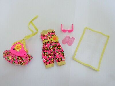 "♥ BARBIE KLEIDUNG ♥ Kelly/Shelly Outfit-Set ""Beach"" ♥ Fashion / Mode 1995 #14394"