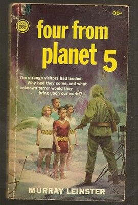 MURRAY LEINSTER Four from Planet 5. 1st edition 1959. Alien super-children.