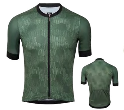 6ef23ac11 2019 Suarez Men s Ranvier Avant Classic Cut Short Sleeve Cycling Jersey in  Green