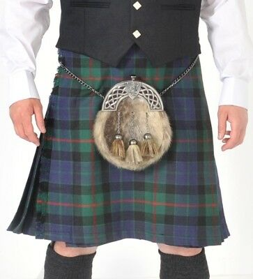 Ex Hire Gunn Modern 8 YARD WOOL  KILT ONLY EX HIRE £99 A1 CONDITION