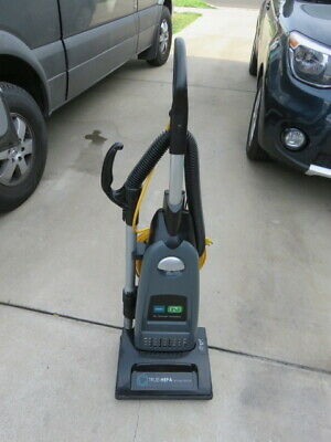 Tennant true hepa commercial vacuum cleaner v-smu-14 plus attachments