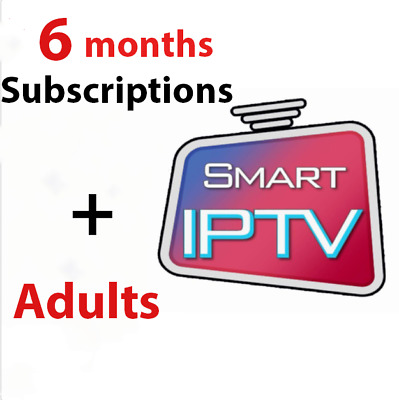 SUBSCRIPTION IPTV 12 months +7500 +Adults chaî/VOD  Android
