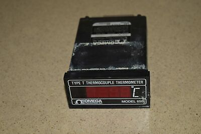 ^^ Omega Engineering Type T Thermocouple Thermometer Model 650